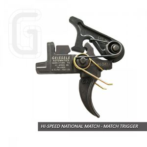 Geissele match trigger is Perfect space gun add-on as pull weight adjusted to low levels that enhance trigger control. these highly customized semi-automatic weapons are intended to produce extreme accuracy at long range.